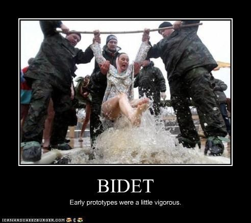 bidet help military rescue save soldiers water woman wtf