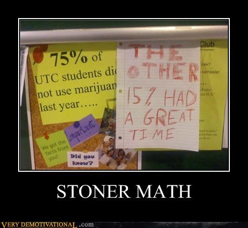 drug stuff stoner math