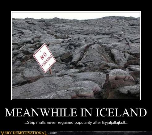 Iceland parking lot volcano - 4383459584