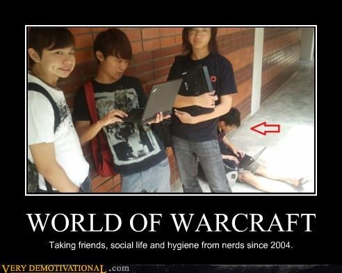 world of warcraft nerds video games