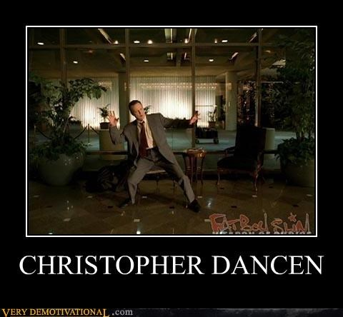dancing,chrisopher walken,music video
