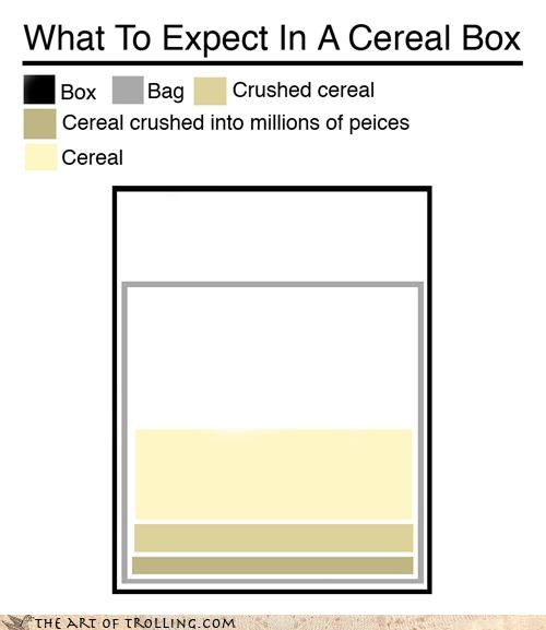 cereal food infographic - 4384132096