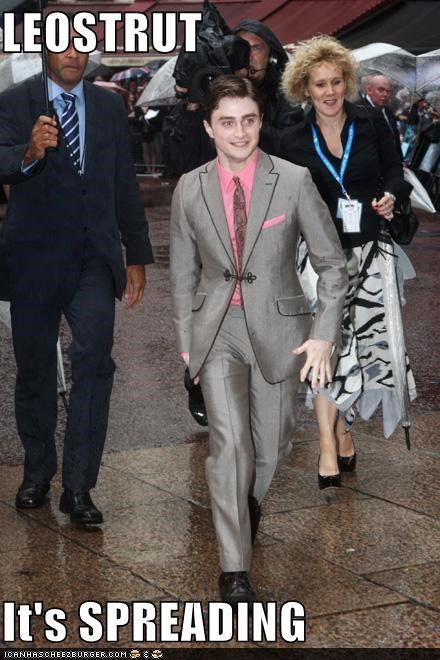 actor celeb Daniel Radcliffe funny - 4384663040