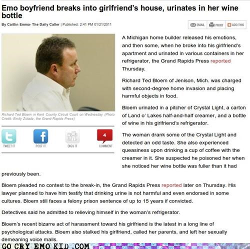 boyfriend,emolulz,girlfriend,golden shower,news,pee,wine