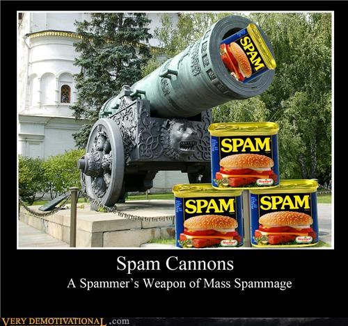 cannon literal spam