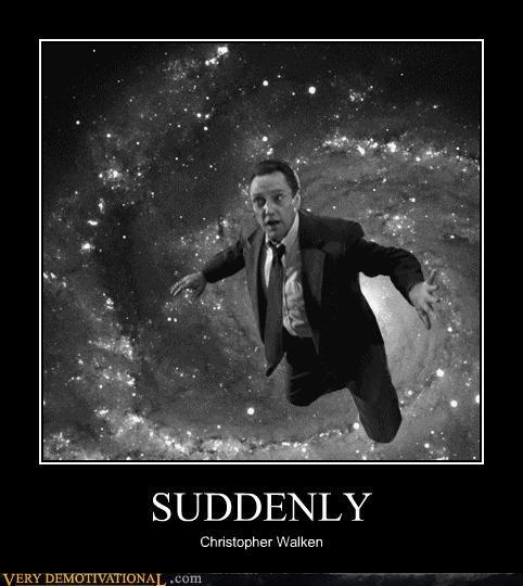 wtf suddenly christopher walken space - 4385742336