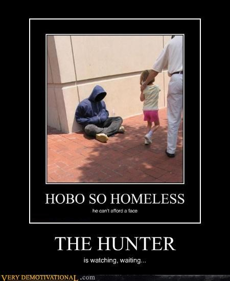 hoody homeless hunter