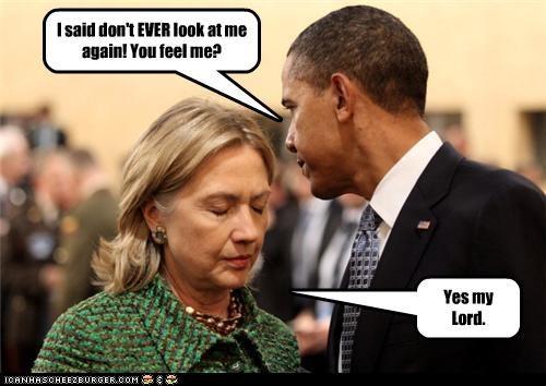 barack obama Hillary Clinton mean president secretary of state - 4385870080