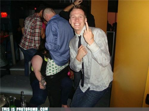 bros caught in the act drinking Party photobomb wtf - 4385873408