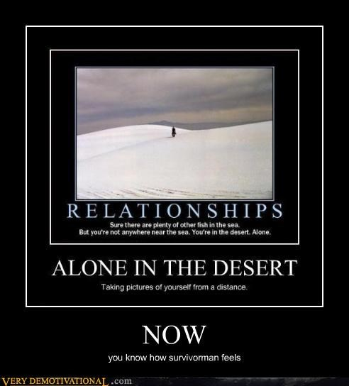 Survivorman,desert,relationships