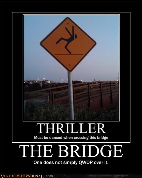 sign QWOP bridge - 4386608640