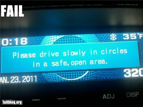 Car GPS FAIL