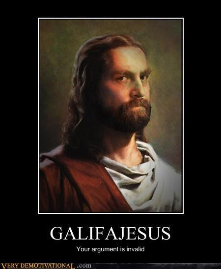 jesus art Zach Galifianakis - 4387047936