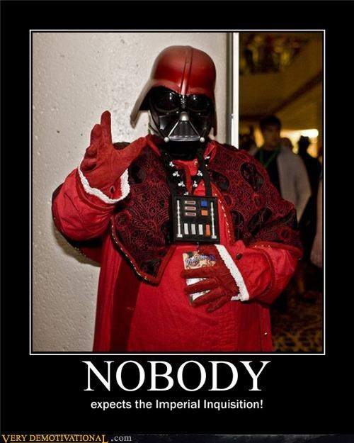 Spanish Inquisition,monty python,darth vader