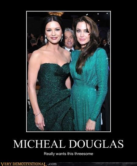 Angelina Jolie catherine zeta-jones Michael Douglas sexy times - 4387491328