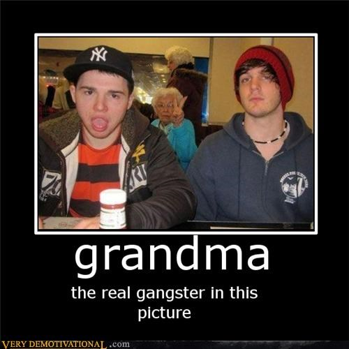 photobomb,gangsta,wtf,grandma