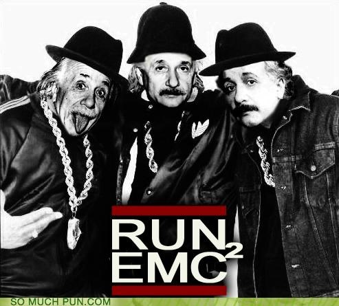 albert einstein,emc2,einstein,photoshop,relativity,Run DMC,single,theory of relativity,walk this way