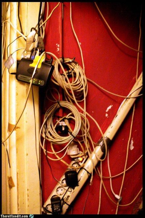 electrical fire,Professional At Work,wires