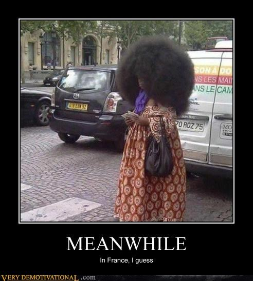 hair fro Meanwhile france - 4388147968