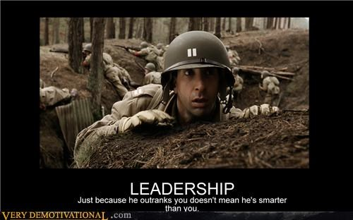 ross band of brothers dumb leader