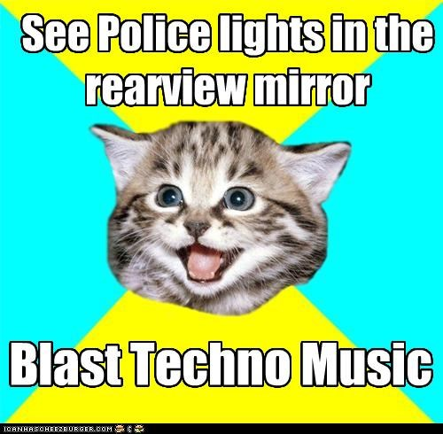 flasher Happy Kitten move to the right for sirens and lights now-its-a-party police lights techno woop woop - 4388459264
