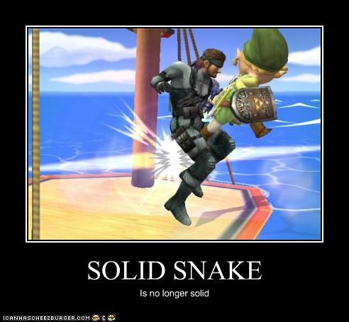 SOLID SNAKE Is no longer solid