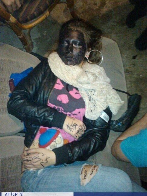 black face,passed out,racist,South Park