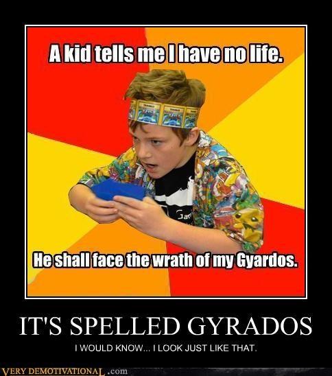 gyrados kid look a like pokemon kid - 4389393664