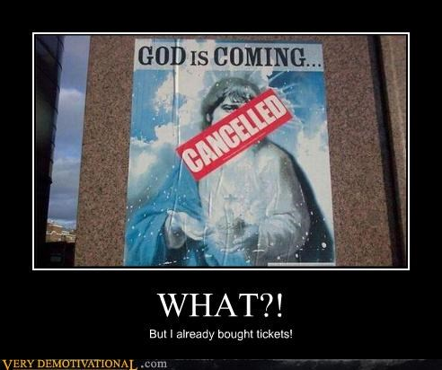 jesus cancelled second coming - 4389748736