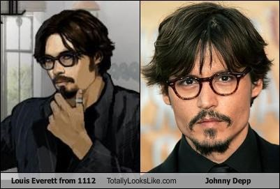 1112 actor Johnny Depp louis everett video game