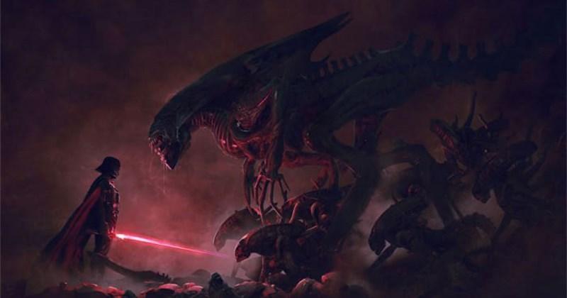 ilustracion star wars aliens