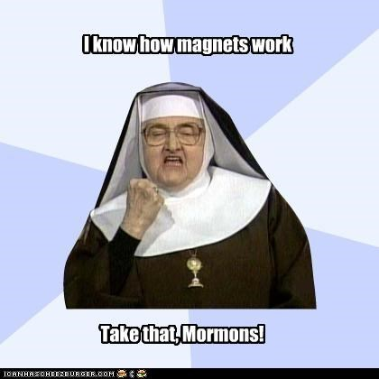 magnets-mormons nun Success Nun - 4390566912