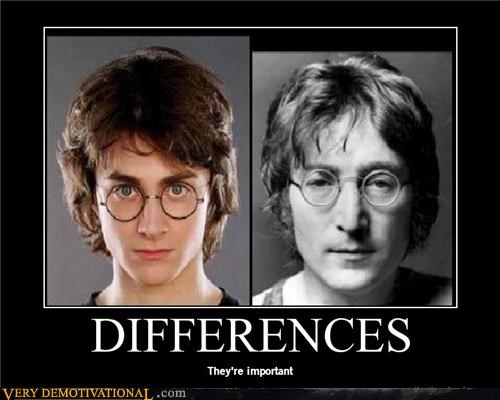 Harry Potter,john lennon,look a like