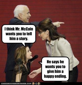 double entendre happy ending innuendo john mccain Sarah Palin story - 4391302912