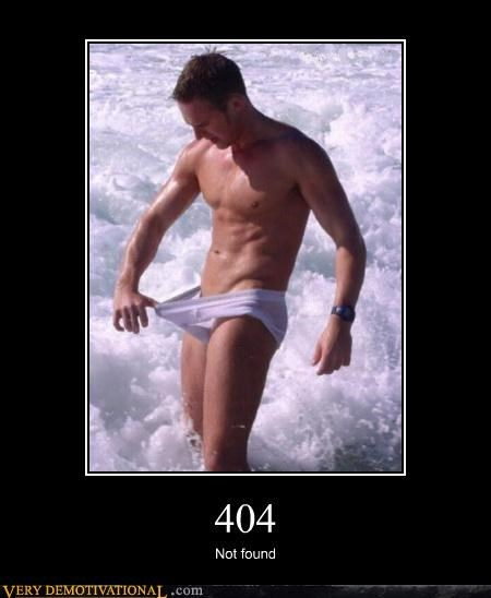 404 dude not found penis underwear wtf