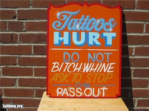failboat oddly specific signs tattoos whining - 4392218368
