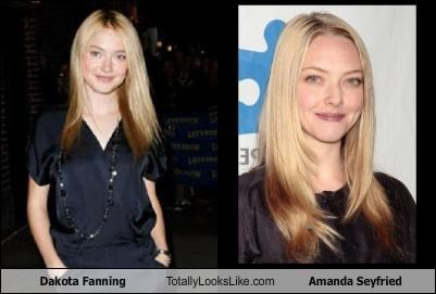 actress actresses Amanda Seyfried blonde dakota fanning