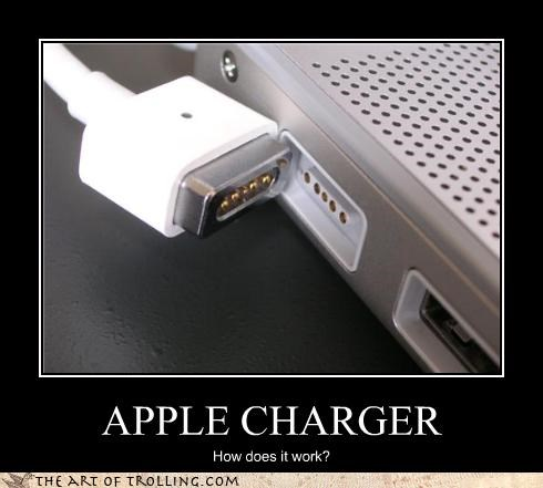 apple charger computers IRL macbook magnet - 4393668352