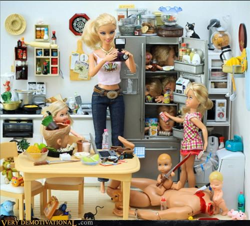 Barbie,murder,ominous,wtf