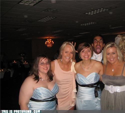 boss epic face formal photobomb woman - 4394309376