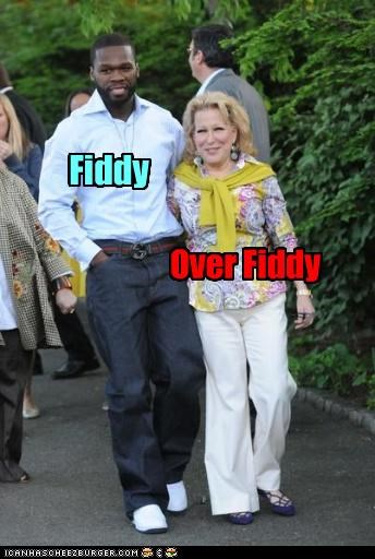 50 cent actor Bette Midler celeb funny Music - 4394317568