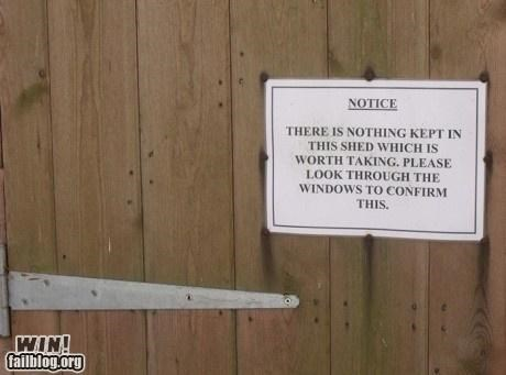 notice science sign thieves troll wtf - 4394466048