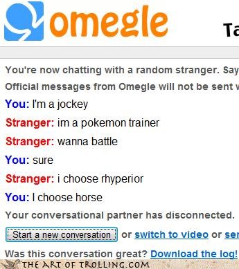 i choose you i own a horse jockey Omegle Pokémon rhyperior - 4394942208