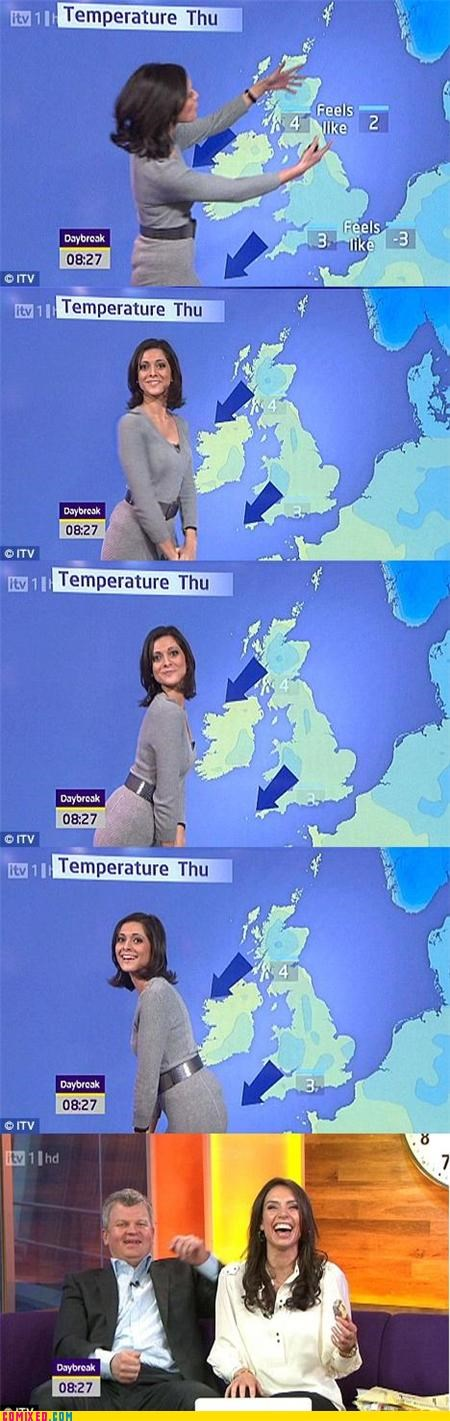 babe lol news TV weather - 4394944768