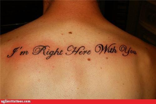 backs tattoos funny - 4395241216