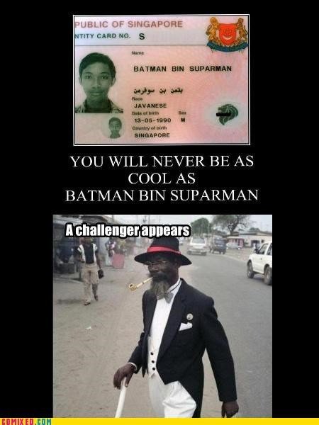 awesome,batman,Challenge Accepted,cool guys,superman,the internets