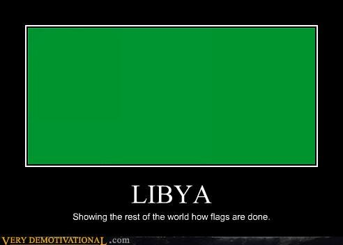 flag green libya world - 4395418112