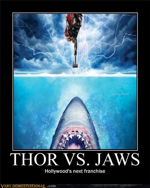 bad idea,hollywood,jaws,Movie,Thor