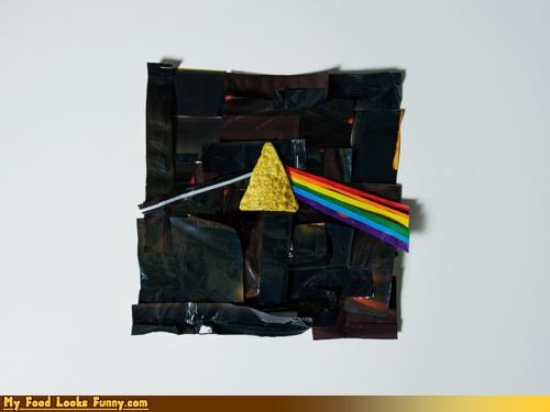 album art,albums,art,chips,Dark Side of the Moon,doritos,pink floyd,records,snacks