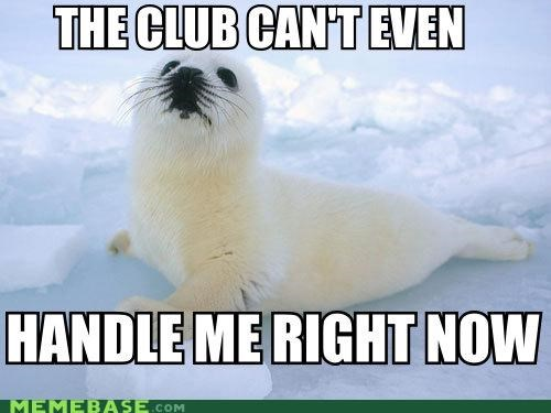 baby seals,clubbing,Memes,so wrong,the club